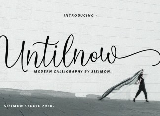 Untilnow Calligraphy Font