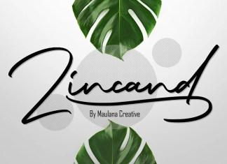 Zincand Handwritten Font