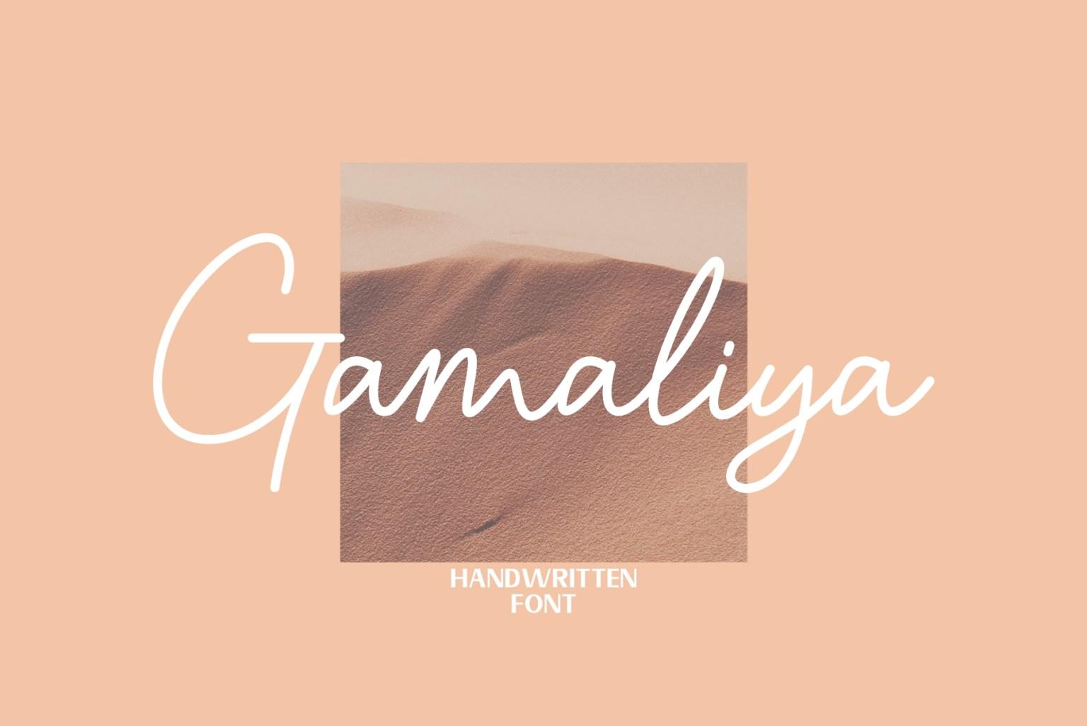 Gamaliya Font