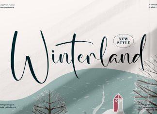 Winterland Script Font