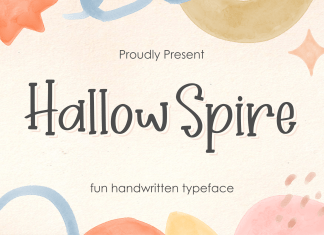 Hallow Spire Display Font
