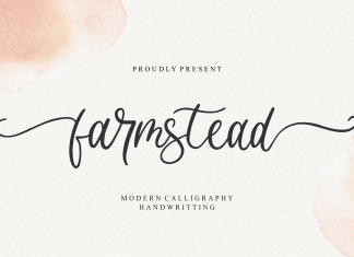 Farmstead Script Font