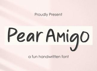 Pear Amigo Brush Font