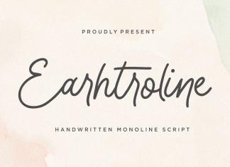 Earhtroline Script Font