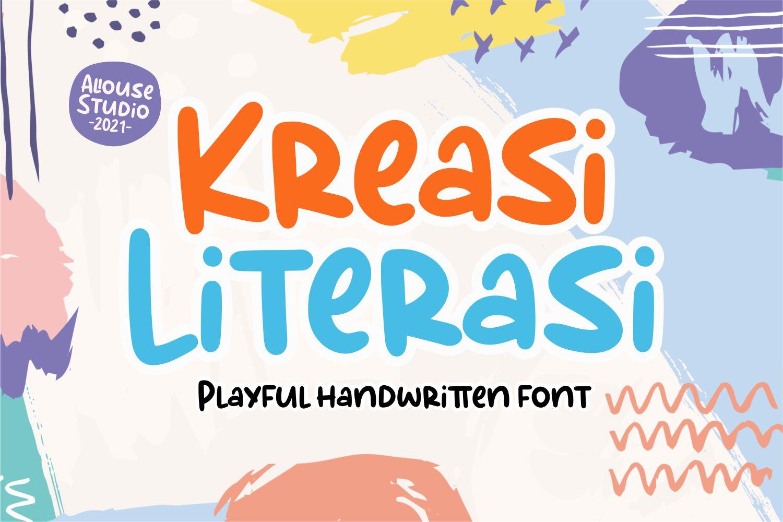 Kreasi Literasi Display Font