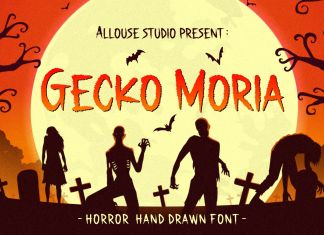 Gecko Moria Display Font