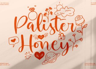 Palister Honey Script Font