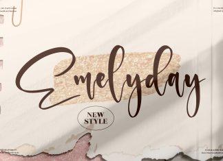 Emelyday Script Font