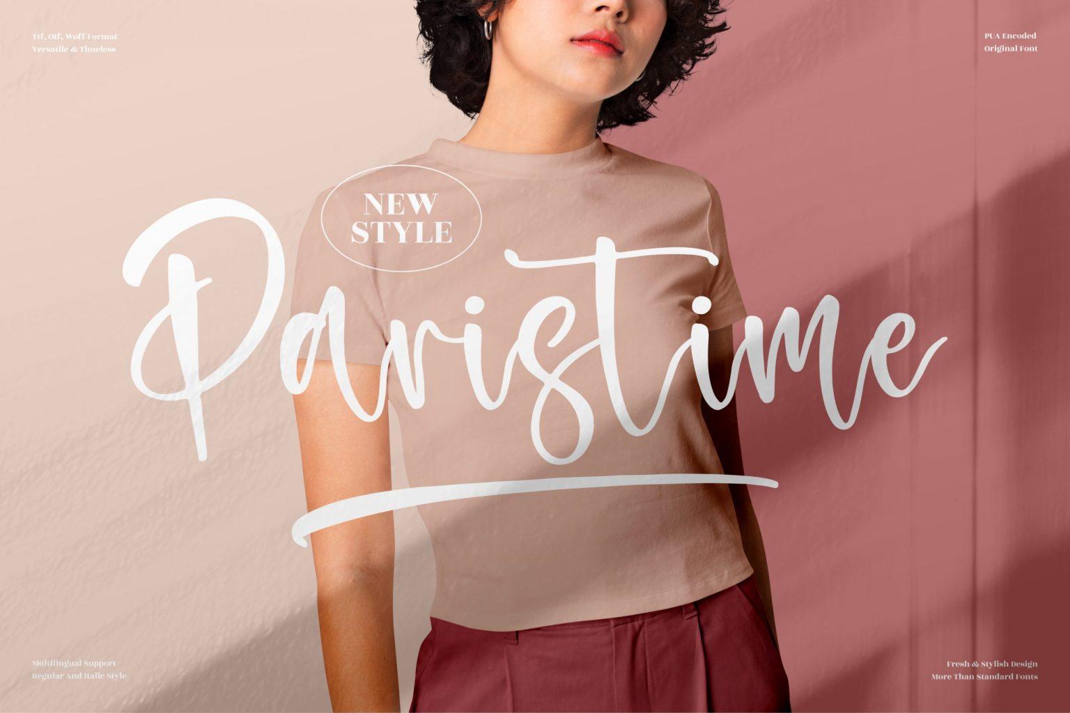Paristime Font