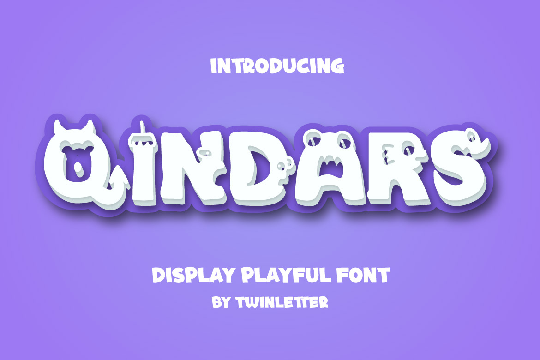 Qindars Display Font