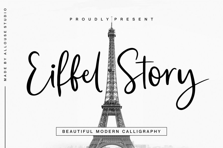Eiffel Story Script Font