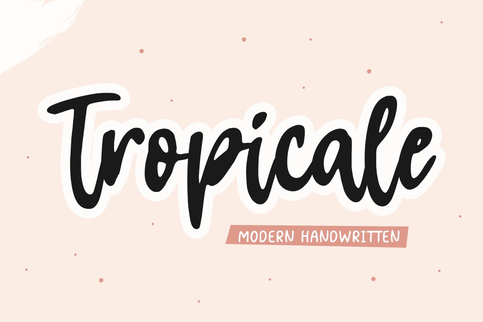Tropicale Handwritten Font