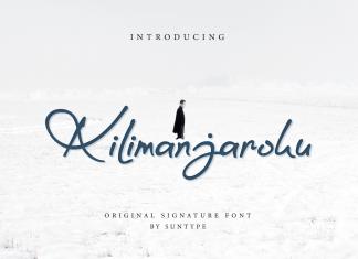 Kilimanjaroku Handwritten Font