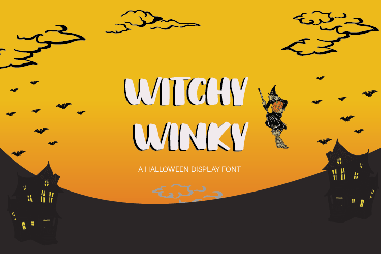 Witchy Winky Display Font