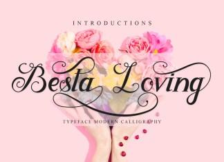 Besta Loving Calligraphy Font