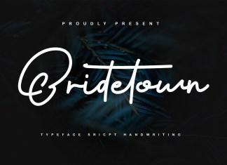 Bridetown Handwritten Font