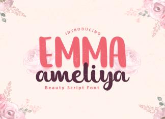 Emma Ameliya Script Font