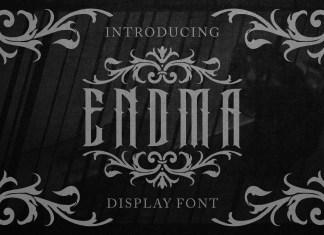 Endma Blackletter Font