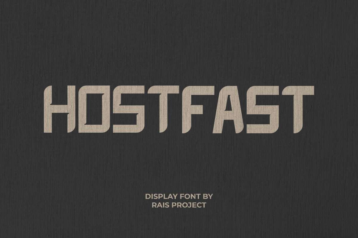 Hotfast Display Font
