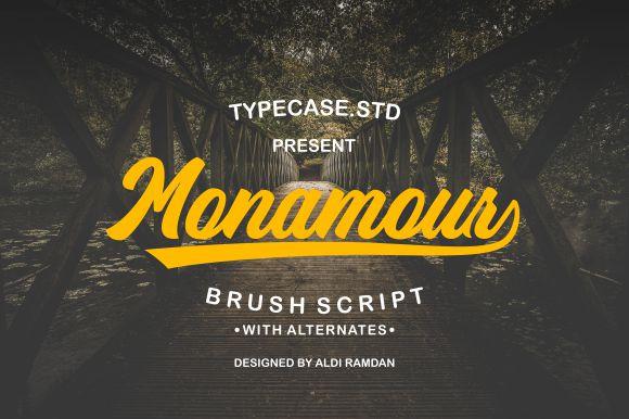 Monamour Script Font