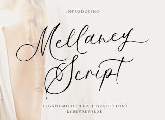 Mellaney Script Font