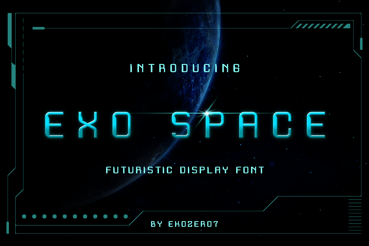 Exo Space Display Font