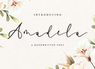 Amadela Script Font