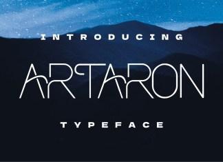 Artaron Display Font