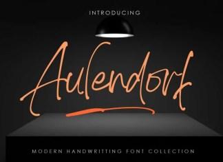 Aulendorf Handwritten Font