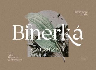 Bhinerka Serif Font