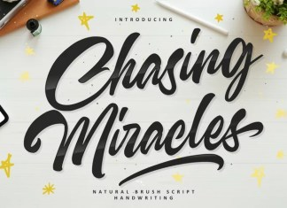 Chasing Miracles Script Font