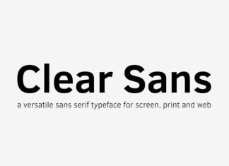 Clear Sans Font