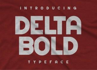 Delta Bold Display Font