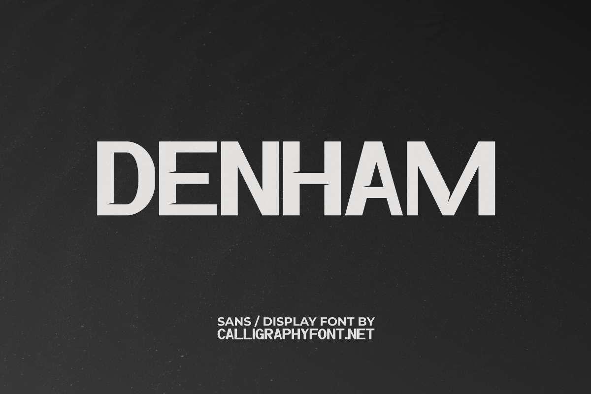 Denham Display Font