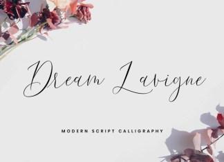 Dream Lavigne Script Font