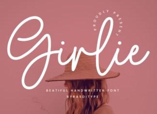 Girlie Script Font