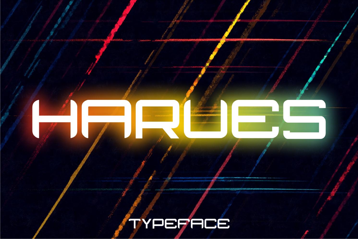 Harues Display Font