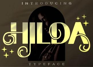 Hilda Display Font