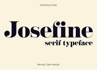 NT Josefine Serif Font