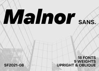 Malnor Sans Font
