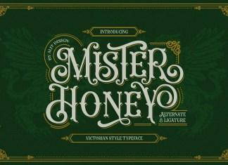 Mister Honey Font