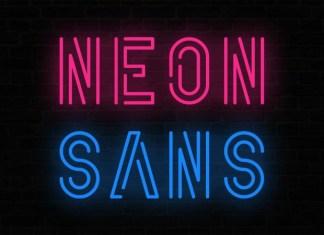 Neon Sans Display Font