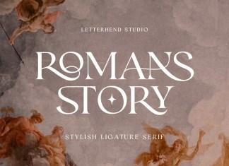 Romans Story Serif Font