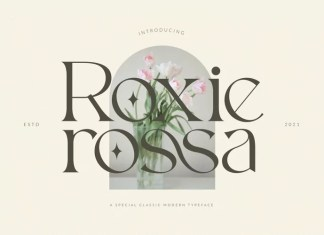 Roxie Rossa Serif Font