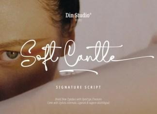 Soft Cantle Handwritten Font