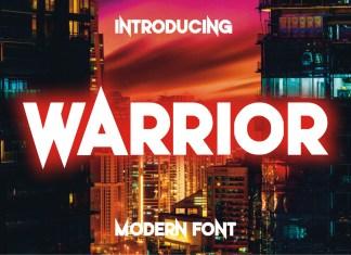 Warrior Display Font