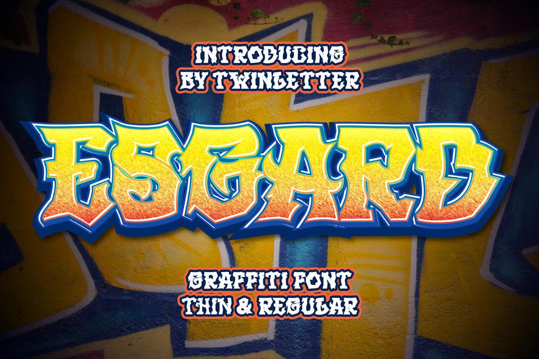 Esgard Display Font