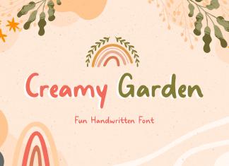 Creamy Garden Handwritten Font