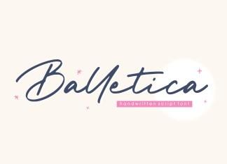 Balletica Handwritten Font