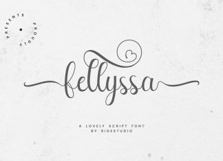 Fellyssa Script Font